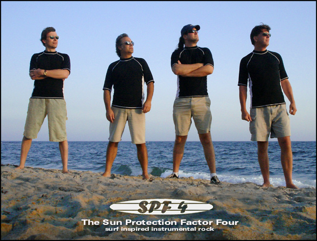 SPF4 surf-inspired instrumental rock